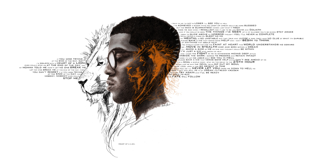 MBender KidCudi Heart Of A Lion